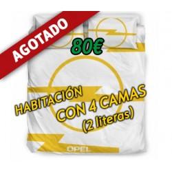 Habitación CON 4 CAMAS (2...
